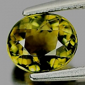 ok. 1,18ct/1szt. - TURMALIN NAT.- 6,7x5,7/4,4mm owal