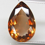 ok. 11,035ct/1szt. -IMPERIALNY  TOPAZ NAT.- 17,69x12,14/6,96mm kropla
