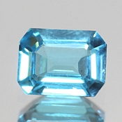 ok. 1,69ct/1szt. -SWISS BLUE TOPAZ NAT.- 7,92x6,08/3,68mm ośmiokąt