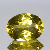 ok. 4,2ct/1szt. -LEMON CYTRYN NAT.- 13,09x9,84/6,12mm owal