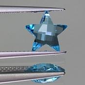 ok. 1,525ct/1szt. - TOPAZ NAT.- 7,84x7,96/4,07mm gwiazda