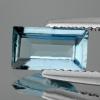 ok. 0,72ct /1szt. - PRZEPIĘKNY AKWAMARYN NAT.- faset. 8,22x4,58/2,52mm prostokąt