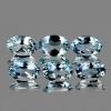 ok. 0,39ct /1szt. - PIĘKNY CZYSTY AKWAMARYN NAT.- doskonały szlif 6,0x4,0mm owal