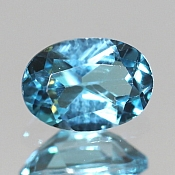 ok. 1,015ct/1szt. -SWISS BLUE TOPAZ NAT.- 6,92xx5,03/3,50mm owal