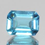 ok. 1,69ct/1szt. -SWISS BLUE TOPAZ NAT.- 7,92x6,08/3,68mm ośmiokąt