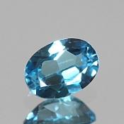 ok. 0,945ct/1szt. -SWISS BLUE TOPAZ NAT.- 6,92x5,02/3,48mm owal