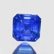 ok. 0,49ct/1szt. -SYJAMSKI ROYAL BLUE SZAFIR NAT.- 4,07x4,16/2,87mm ośmiokąt
