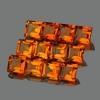 ok. 0,58ct /1szt. -  CYTRYN NAT.-  5,0x5,0mm kwadrat
