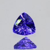 ok. 0,25ct/szt. -IDEALNY  TANZANIT NAT.- 4,18x4,23/2,23mm trilion