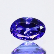 ok. 0,5ct/szt. -IDEALNY  TANZANIT NAT.- 5,92x4,01/2,77mm owal