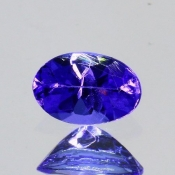 ok. 0,395ct/szt. -IDEALNY  TANZANIT NAT.- 5,60x3,80/2,76mm owal