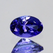 ok. 0,46ct/szt. -IDEALNY  TANZANIT NAT.- 5,70x3,77/3,07mm owal