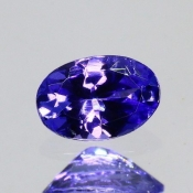 ok. 0,42ct/szt. -IDEALNY  TANZANIT NAT.- 5,73x3,952,67mm owal