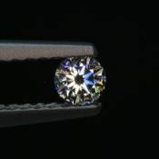 0,10 ct ~ d2,9mm ~ diament biały, szlif okrągły brylantowy ~ barwa GH ~ czystość SI