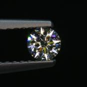 0,19 ct ~ d3,7mm ~ diament biały, szlif okrągły brylantowy ~ barwa GH ~ czystość SI