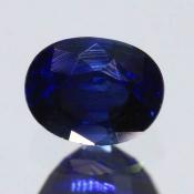 ok. 0,445ct/szt. -ROYAL BLUE! SZAFIR NAT.- 4,48x3,65/3,05mm owal