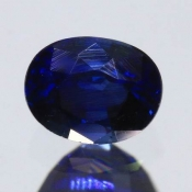 ok. 0,445ct/szt. -ROYAL BLUE! SZAFIR NAT.- 4,48x3,65/3,05mm owal