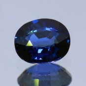 ok. 1,06ct/szt. -ROYAL SZAFIR NAT.- 6,57x5,50/3,14mm owal
