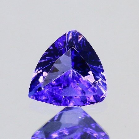 ok. 0,43ct/szt. -IDEALNY  TANZANIT NAT.- 5,07x5,23/2,66mm trilion