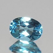 ok. 0,95ct/1szt. -SWISS BLUE TOPAZ NAT.- 7,00x5,02/3,42mm owal