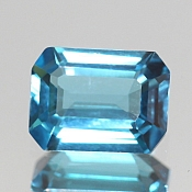 ok. 1,68ct/1szt. -SWISS BLUE TOPAZ NAT.- 7,98x6,04/3,60mm ośmiokąt