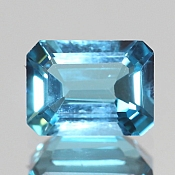 ok. 1,855ct/1szt. -SWISS BLUE TOPAZ NAT.- 7,94x6,02/3,82mm ośmiokąt
