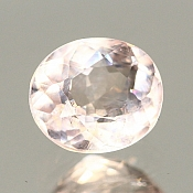 ok. 1,01ct/1szt. - MORGANIT NAT.- 6,72x5,78/4,26mm owal