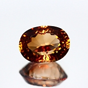 ok. 5,91ct/1szt. -IMPERIAL TOPAZ NAT.- 12,15x8,97/7,31mm owal