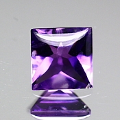 ok. 0,965ct/1szt. -IDEALNY AMETYST NAT.- 6,04x6,09/4,08mm kwadrat