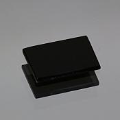 ok. 1,45ct/1szt. -DOSTOJNY ONYKS NAT.- 12,5x8,5/1,0mm prostokąt