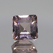 ok. 1,93ct/1szt. - MORGANIT NAT.- 7,46x7,40/4,72mm kwadrat
