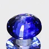 ok. 1,21ct/1szt. -ROYAL BLUE SZAFIR NAT.- 6,42x5,76/3,65mm owal