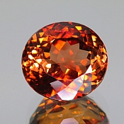 ok. 11,17ct/szt. -IMPERIAL TOPAZ NAT.- 12,75x11,64/9,26mm owal