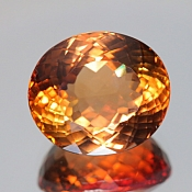 ok. 29,99ct/szt. -IMPERIAL TOPAZ NAT.- 18,82x16,49/11,38mm owal