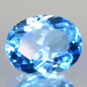 ok. 2,355ct/szt. - TOPAZ NAT.- 9,01x7,07/4,65mm owal