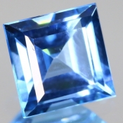 ok. 1,815ct/szt. - TOPAZ NAT.- 6,85x6,86/4,27mm kwadrat