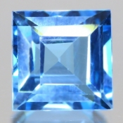 ok. 2,175ct/szt. - TOPAZ NAT.- 7,05x7,04/4,55mm kwadrat