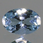 ok. 0,39ct/szt. - AKWAMARYN NAT.- 6,01x4,10/2,96mm owal