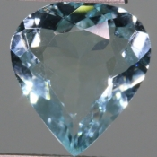 ok. 3,15ct/szt. - AKWAMARYN NAT.- 12,36x11,12/4,63mm kropla
