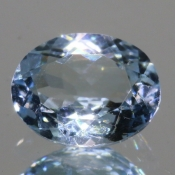 ok. 1,54ct/szt. - AKWAMARYN NAT.- 8,91x7,06/4,10mm owal