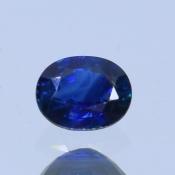 ok. 0,5ct/szt. -TWILIGHT BLUE SZAFIR NAT.- 5,09x4,04/2,58mm owal