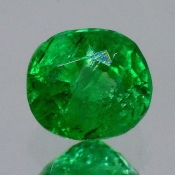 ok. 0,555ct/szt. -LEGENDARNY PANSHIR! SZMARAGD NAT.- 5,16x4,64/3,71mm owal