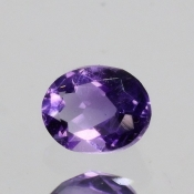 ok. 0,34ct/szt. -IDEALNY  AMETYST NAT.- 4,92x3,89/2,64mm owal