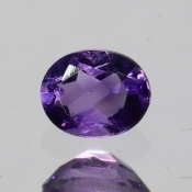 ok. 0,315ct/szt. -IDEALNY  AMETYST NAT.- 4,89x3,93/2,56mm owal