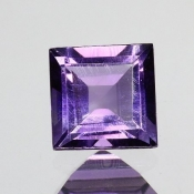 ok. 0,93ct/szt. -IDEALNY  AMETYST NAT.- 6,03x6,02/3,64mm kwadrat