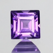 ok. 1,07ct/szt. -IDEALNY  AMETYST NAT.- 6,03x6,13/4,12mm kwadrat