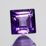 ok. 1,15ct/szt. -IDEALNY  AMETYST NAT.- 6,05x6,05/4,21mm kwadrat