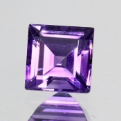 ok. 1,14ct/szt. -IDEALNY  AMETYST NAT.- 5,99x5,99/4,56mm kwadrat