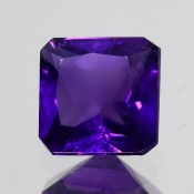 ok. 1,365ct/szt. -IDEALNY  AMETYST NAT.- 6,89x6,81/4,09mm kwadrat