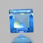 ok. 0,79ct/szt. -IDEALNY  TOPAZ NAT.- 5,02x5,09/3,02mm kwadrat